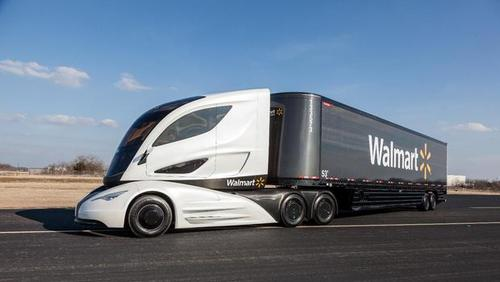 Walmart 公佈概念貨車計畫 WAVE