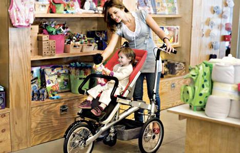 Taga的媽媽三輪車-可以蹓小孩也可以當菜籃車