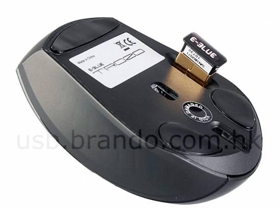 超小 2.4Ghz 無線雷射滑鼠