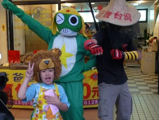 熊爸爸 VS KERORO