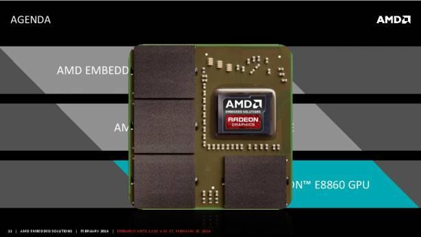 針對多顯示、高解析與平行運算需求, AMD 推出新一代嵌入式 GPU E8860