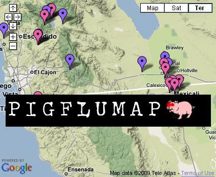 在手機上追蹤豬流感疫情的可能性?
