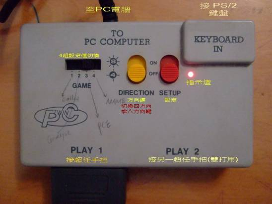 PC-Twin 超任手把轉接器 for PC