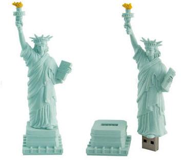 自由女神USB隨身碟