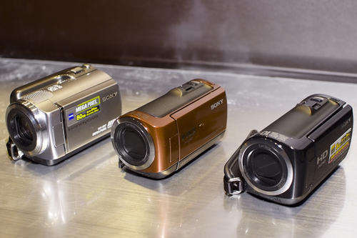 Sony Handycam 09年新品上市發表會