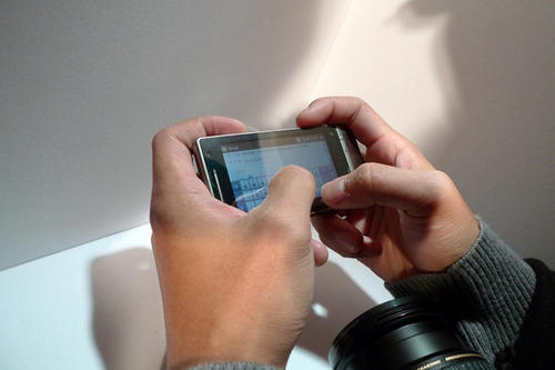 HTC Touch Diamond 2 各部照片