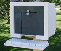 整套電腦的造型信箱