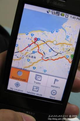 My tracks:把你的Android變身為GPS裝置