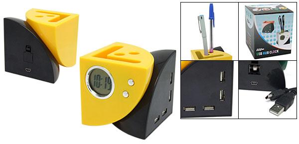 多功能USB HUB筆筒座