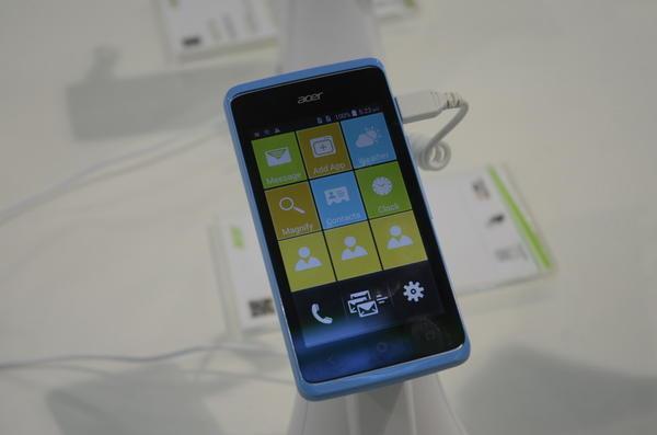 Computex 2014:簡單介紹Acer的手機介面設計