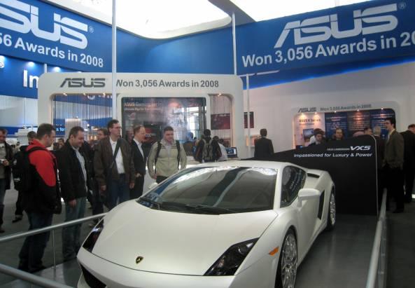 華碩在Cebit發表Lamborghini VX5,真的有跑車!