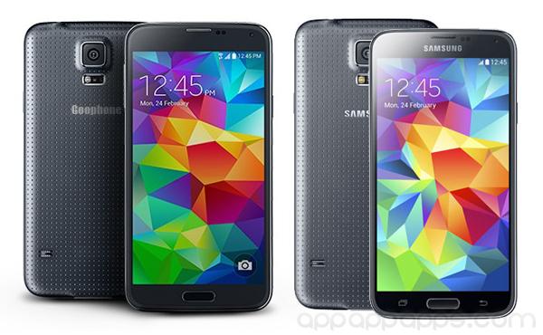iPhone 5s, GS5全包辦: Goophone Galaxy S5像真山寨版面世