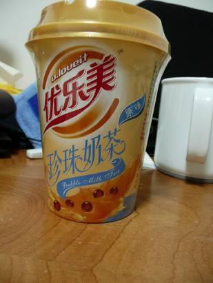 大陸專有產品 沖泡式 珍珠奶茶