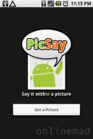 PicSay幫你加上圖說文字