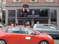 我看到Google街景車了