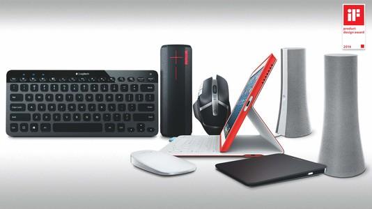 羅技電子於 2014 德國 iF 產品設計大獎一舉囊括 7 獎項
