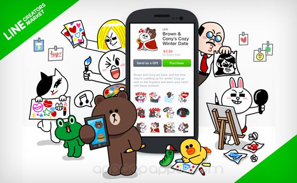 LINE 今年 2 大新功能: 自己設計貼紙公開賣, 電話功能新突破