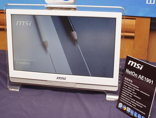 微星CES 2009展前記者會 - 筆電加桌機