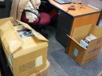 辦公室遷徙中