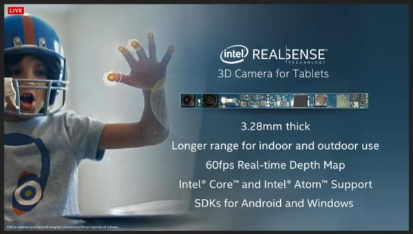 Computex 2014:Intel RealSense 3D 攝影機 準備100萬美金等你拿出好軟體