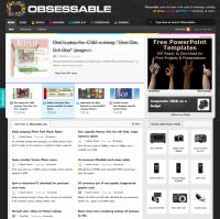 最強的科技部落格平台 OBSESSABLE