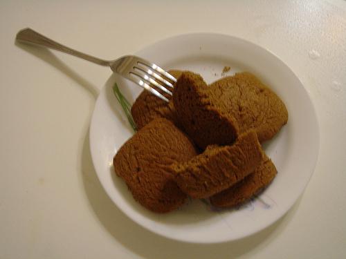 今晚的牛奶點心 - 咖啡口味餅乾...