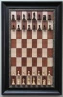 壁掛的西洋棋