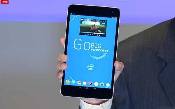 Computex 2014:鴻海五個月內作出一台 Intel Atom Android 平板電腦