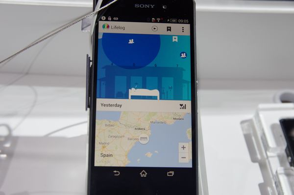 MWC 2014 : Sony Lifelogging app 提供實機運作展示,並展出穿戴相機概念