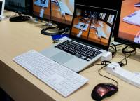 Computex 2014:防盜 集線器 MacBook 底座「一把」搞定的神奇玩意!