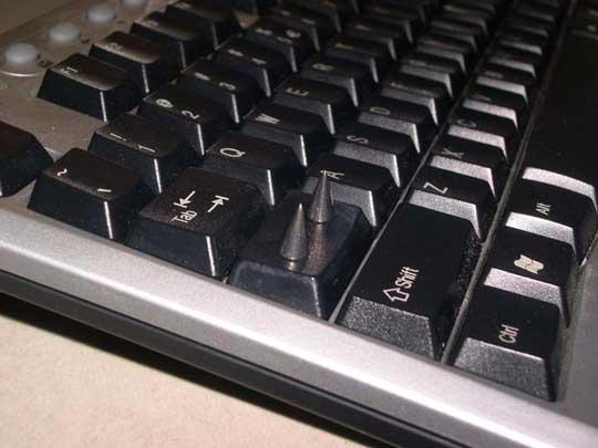 防止誤按Cpa Lock的好方法
