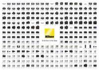 Nikon 海報 – 1948 至 2005 全型號集合