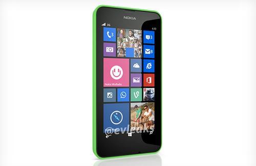 Nokia Lumia 630 小走光,應該是第一台有 on-screen 鍵的 Windows Phone