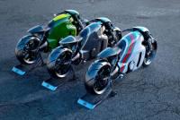 《創:光速戰記》坐騎設計者為蓮花牌打造一系列重機