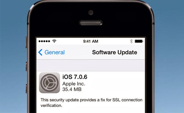iOS 7.0.6 不是普通更新: Apple 竟犯下嚴重失誤