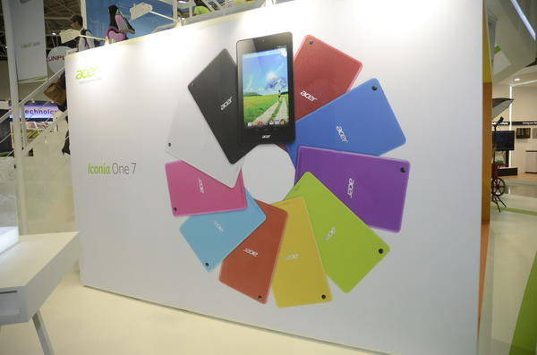 Computex 2014:比起手機,Acer的平板變化就沒有這麼多了,三款平板介紹