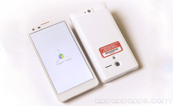 """5年之後的電話? Google超炫Tango計劃, 第一部真正""""3D""""電話 [影片]"""