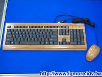 [ iqmore ] Computex 2008: RCS基富電腦 竹製鍵盤