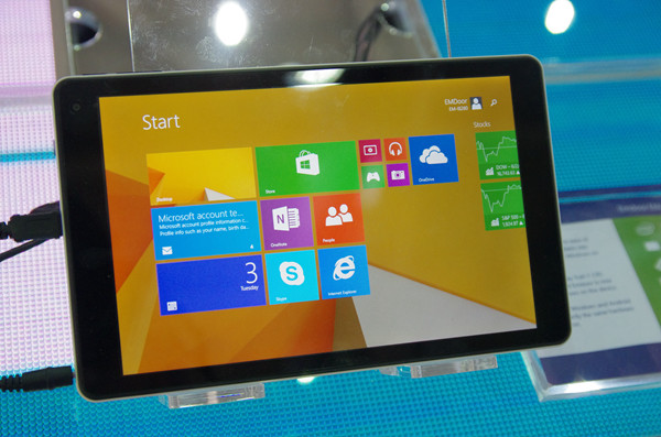 Computex 2014 :微軟攤位不再以產品分區,改以情境方式體驗 Windows 如何融入生活