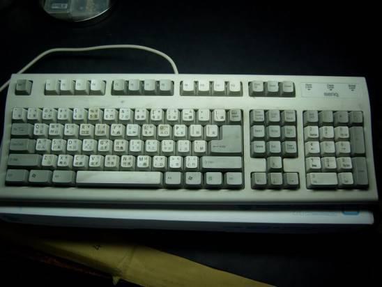 今天來洗鍵盤