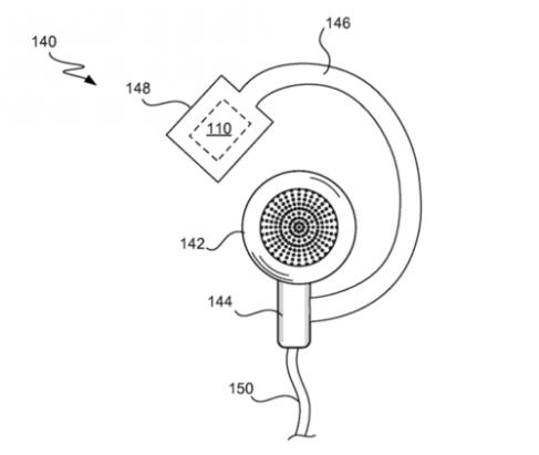 水果專利之用你的耳機聽心跳