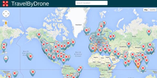 宅在家又有新理由了!全球空拍影片地圖上線!