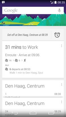 坐車不怕坐過站了...,Google 推出通勤專用鬧鈴