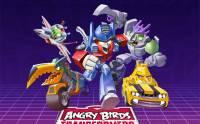 Angry Birds 最新大作: 結合 Transformers 變形金剛鳥