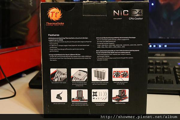 Termaltake 曜越 NiC C4 不干涉顯示卡不撞到記憶體才是好用的散熱器