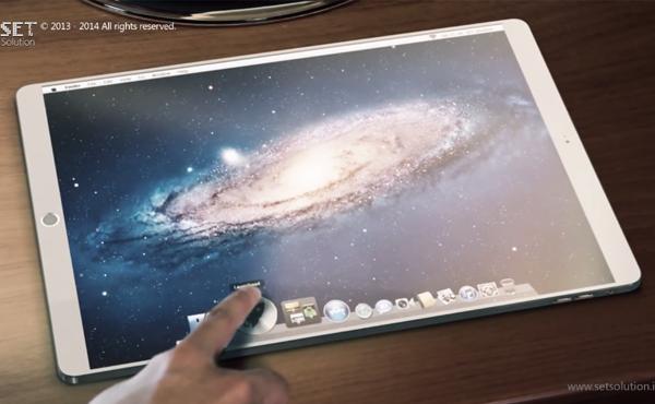 iPad Pro有甚麼吸引? 看看這個運行觸控版 OS X 的超炫設計 [影片]