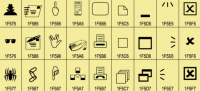 Unicode Standard 7.0 部份顏文字公佈