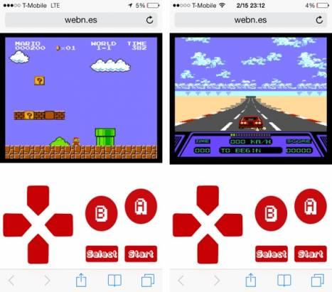 不用破解或安裝: 教你iOS / Android瀏覽器直讀任天堂經典遊戲