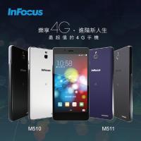 InFocus 在台宣布兩款孿生入門 LTE 機種 M510 與 M511 ,分別支援不同電信業者布局