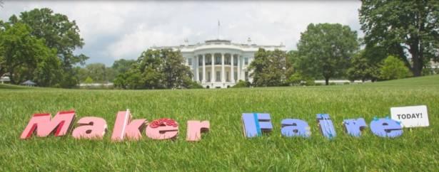 美國總統歐巴馬 (Obama) 宣佈 Mozilla Maker Party 2014 正式開始
